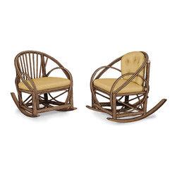 La Lune Collection - Rustic Rocking Chair #1055, #1057 by La Lune Collection - Rustic Rocker #1055 & #1057 by La Lune Collection
