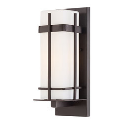 The Great Outdoors - The Great Outdoors 72352-615B-PL 1 Lt Outdoor Wall Mount - The Great Outdoors 72352-615B-PL 1 Lt Outdoor Wall Mount
