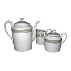 Jammet Seignolles - Jammet Seignolles Cadix Tea Set - Jammet Seignolles Cadix Tea Set