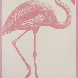 Thomas Paul Tea Towel, Miami - This is afun way to add a little pink playfulness to the kitchen. (They also have an orange version with an elephant.)