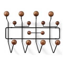 Eames Hang-It-All Limited Edition - What modernist can't resist a piece of Eames? This set of hooks also comes in an array of bright colors, but I love this more masculine version. It will only be in production for a few months, so grab it while you can!