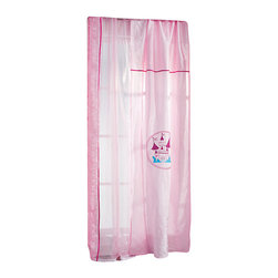 "Cilek - Princess Sheer - This panel curtain is part of the ""Princess"" collection. Beautifully crafted by Cilek, this white sheer can be a great addition to Girls themed bedroom. Astonishing details and vibrant color."