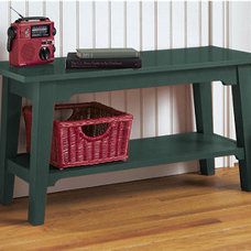 Traditional Indoor Benches by L.L. Bean