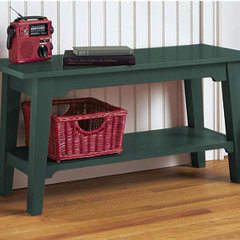 traditional benches by L.L. Bean