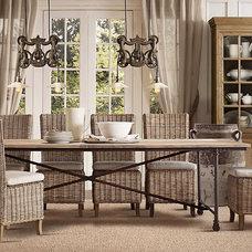 Flatiron Dining Tables | Rectangular Dining Tables | Restoration Hardware