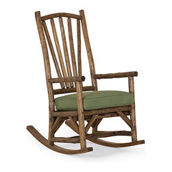 Rustic Rocking Chair #1190 by La Lune Collection - Rustic Rocking Chair #1190 by La Lune Collection