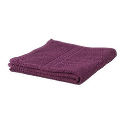 FRÄJEN Bath towel - Bath towel, dark lilac