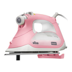 OLISO - Oliso Pink 1800-watt Smart Iron with iTouch Technology - A 360-degree swivel cord gives you full range of motion as you work,preventing tangles and snags. For added safety,the iron has an auto shut-off if you accidentally leave it on or if the unit tips over.