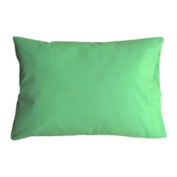 "A Little Pillow Company LLC - ""A Little Pillow Company"" JUNIOR PILLOWCASE - 100% Cotton , Green - Wrap ""A Little Pillow Company"" pillow in only the best..."