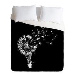 DENY Designs - Budi Kwan Going Where The Wind Blows Duvet Cover - Turn your basic, boring down comforter into the super stylish focal point of your bedroom. Our Luxe Duvet is made from a heavy-weight luxurious woven polyester with a 50% cotton/50% polyester cream bottom. It also includes a hidden zipper with interior corner ties to secure your comforter. it's comfy, fade-resistant, and custom printed for each and every customer.