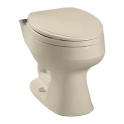 Toto - Toto C716#03 Bone Carusoe Two Piece Elongated Toilet Bowl Only 1.6 GPF - The Carusoe collection from Toto offers a classically styled look that will compliment any home decor.