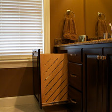 Traditional Bathroom by Stephanie Watson - Mike's Woodworking, Inc.