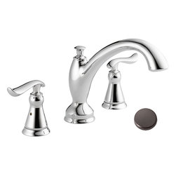 Delta - Delta Linden T2794-RB Oil Rubbed Bronze Roman Tub Trim - Delta T2794 Roman Tub Faucet is part of the Linden line and comes in an Oil Rubbed Bronze finish. It also has matching complements for the rest of the bathroom. The design was inspired by nature, specifically after reaching tree branches.