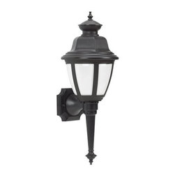 Sea Gull Lighting - Sea Gull Lighting 88390BLE Belmar 1 Light Energy Star Outdoor Lantern Wall Sconc - Specifications: