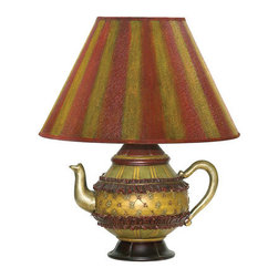 Sterling Industries - Sterling Industries 91-782 1 Light Teapot Table Lamp - Features:
