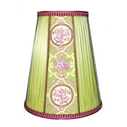 Taffeta Pleated Lampshade