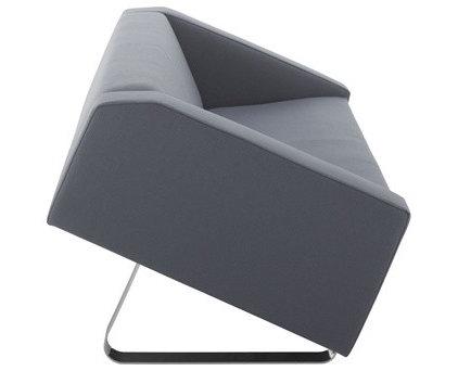 Contemporary Love Seats by arcmotiv.com