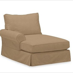 PB Comfort Roll Arm Left Arm Chaise, Polyester Wrap, Brushed Canvas Walnut - Sink into this comfort sectional just once, and you'll know how it got its name.With extra-deep seats and three layers of thick padding on the arms and back, these eco-friendly components provide roomy comfort for the whole family. {{link path='pages/popups/PB-FG-Comfort-Roll-Arm-4.html' class='popup' width='720' height='800'}}View the dimension diagram for more information{{/link}}. {{link path='pages/popups/PB-FG-Comfort-Roll-Arm-6.html' class='popup' width='720' height='800'}}The fit & measuring guide should be read prior to placing your order{{/link}}. Choose polyester wrapped cushions for a tailored and neat look, or down-blend for a casual and relaxed look. Choice of knife-edged or box-style back cushions. Proudly made in America, {{link path='/stylehouse/videos/videos/pbq_v36_rel.html?cm_sp=Video_PIP-_-PBQUALITY-_-SUTTER_STREET' class='popup' width='950' height='300'}}view video{{/link}}. For shipping and return information, click on the shipping tab. When making your selection, see the Quick Ship and Special Order fabrics below. {{link path='pages/popups/PB-FG-Comfort-Roll-Arm-7.html' class='popup' width='720' height='800'}} Additional fabrics not shown below can be seen here{{/link}}. Please call 1.888.779.5176 to place your order for these additional fabrics.