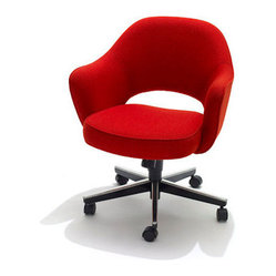 Saarinen Executive Armchair, Swivel Base
