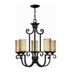 Hinkley Lighting - Hinkley Lighting 4015OL Casa Olde Black 5 Light Chandelier - Hinkley Lighting 4015OL Casa Olde Black 5 Light Chandelier