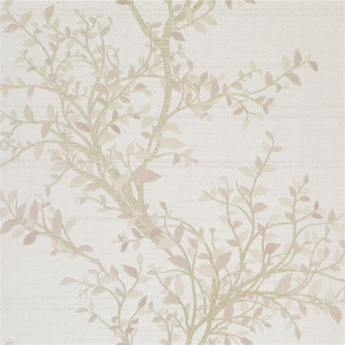 Brewster Bellissimo Wallpaper - These gently flowing vines will bring a natural elegance to walls.