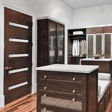 Modern Interior Doors by US Door & More Inc