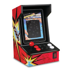 iCade - Of course, a full-sized arcade console is can cost hundreds or thousands of dollars. A much lower-cost and smaller-footprint alternative is a tablet-based mini console, such as the iCade Arcade Cabinet for iPad.