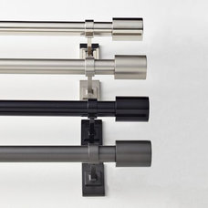 Contemporary Curtain Rods by West Elm