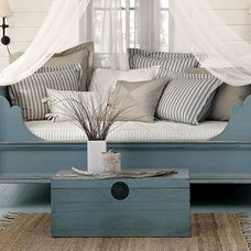 Day Beds And Chaises Blue Room - traditional - bedroom - other metros - by The Lettered Cottage