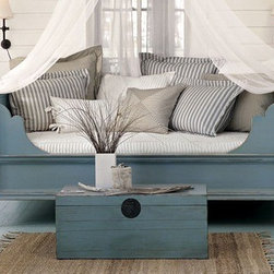Blue Room - traditional - bedroom - other metros - by The Lettered Cottage -