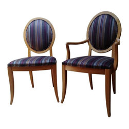 SOLD OUT! Set of 8 Ethan Allen Dining Room Chairs - $4,000 Est. Retail - $650 on -