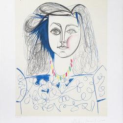 Pablo Picasso, Portrait de Femme, 10, Lithograph - Artist:  Pablo Picasso, After, Spanish (1881 - 1973)