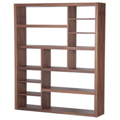 modern bookcases cabinets and computer armoires by FASHION FOR HOME