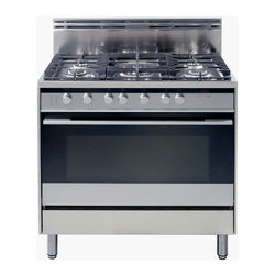 "Fisher & Paykel  36 Pro-Style Gas Range with 5 Sealed Burners - This is a terrific looking 36"" range for the price! Very sleek European styling, and it even comes in a double oven option!"