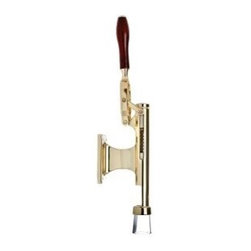 Franmara - Bar-Pull� Wall Mount Wine Bottle Cork Remover Machine, Brass Plated - This gorgeous Bar-Pull Wall Mount Wine Bottle Cork Remover Machine, Brass Plated has the finest details and highest quality you will find anywhere! Bar-Pull Wall Mount Wine Bottle Cork Remover Machine, Brass Plated is truly remarkable.