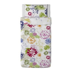 RENATE BLOM Duvet cover and pillowcase(s) - Duvet cover and pillowcase(s), multicolor