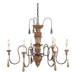 Mansion Chandelier 6 Lght