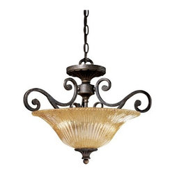 Vaxcel Lighting - Vaxcel Lighting MD-CFU180 Modena Traditional / Classic Two Light Semi-Flush Ceil - Vaxcel Lighting MD-CFU180 Modena Traditional / Classic Two Light Semi-Flush Ceiling FixtureFor over 20 years, Vaxcel International has been a premier supplier of residential lighting products. Their product offering ranges from builder-ready fixtures and ceiling fans to designer chandeliers and lamps, in the latest styles and finishes. They are known in the industry for offering a full selection of products at competitive prices.Features: