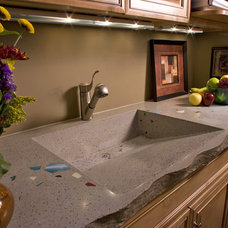 Modern Bathroom Countertops by Concrete Arts