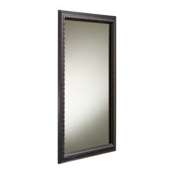 "KOHLER - KOHLER K-2967-BR1 Single-Door Aluminum Medicine Cabinet with Oil-Rubbed Bronze F - KOHLER K-2967-BR1 20""W x 26""H Single-Door Aluminum Medicine Cabinet with Oil-Rubbed Bronze Framed Mirror Door"