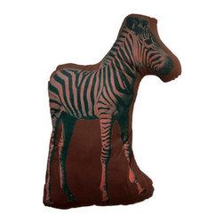 Ross Menuez Zebra Large Pillow - Ross Menuez Zebra Large Pillow