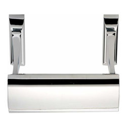 Alno Inc. - Alno Creations Manhattan 12 Inch Towel Bar Polished Chrome A7420-12-Pc - Alno Creations Manhattan 12 Inch Towel Bar Polished Chrome A7420-12-Pc