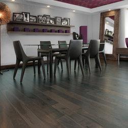 Mirage Floors - Mirage Floors Inspiration Knotty Walnut Charcoal