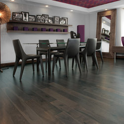 Mirage Floors - Mirage Floors Inspiration Knotty Walnut Charcoal