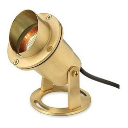 Hinkley - Hinkley 1539BS Submersible Pond Light in Brass 1539BS - 1-Light Submersible Pond Light in BrassBulb Type: MR-16 Certification: C-ETL-US Wet Collection: LANDSCAPE ACCENT Finish: Brass Height: 4-3 4 Leadwire: 240 Material: Brass Number of lights: 1 Socket 1 Base: BI-PIN Socket 1 Max Wattage: 50 Type: Spot Light Voltage: 12 Wattage: 50 Weight: 4 Width: 6-3 4