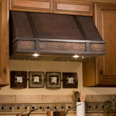 "Limoges Series 30"" Wall-Mount Solid Copper Range Hood - Range Hoods - Kitchen"