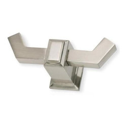 Atlas - Sutton Place Spa Robe Hook - SUTTH-BRN in Bru - Manufacturer SKU: SUTTH-BRN. Includes concealed mounting hardware. Projection: 2.63 in.. Made from metal. 1.44 in. L x 3.75 in. W