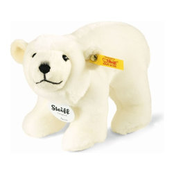 Steiff - Steiff Arco Polar Bear - Steiff Arco Polar Bear is made of cuddly soft white plush. Machine washable. Ages 3 and up. Handcrafted by Steiff of Germany.