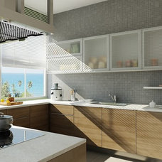 Modern Kitchen Cabinetry by Kitchen Factory