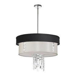 Dainolite - Dainolite RITA-24-3-PC-694-840 Rita 3 Light Chandelier - Features: